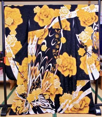 桂由美 黄色 大柄 バラ